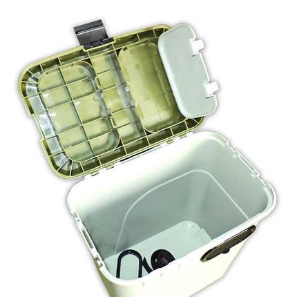 Ящик зимний Aquatech  1870 ЭКОНОМ  (без карманов, коробки, лотка, плеч.накладки), фото 2