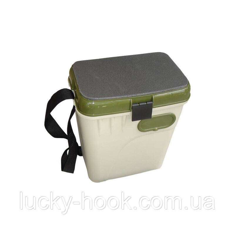 Ящик зимний Aquatech  1870 ЭКОНОМ  (без карманов, коробки, лотка, плеч.накладки)
