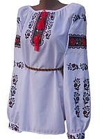 "Вишита жіноча блузка ""Клерен"" (Вышитая женская блузка ""Клерен"") BN-0090"