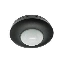 Датчики движения и освещенности для помещений 360° DELUX CТ058 черный