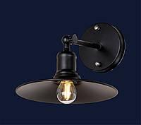 Настенный светильник,бра лофт 707W104-1BK