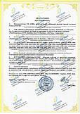 Декларация соответствия ручной металлоискатель, проходной (арочный) металлодетектор