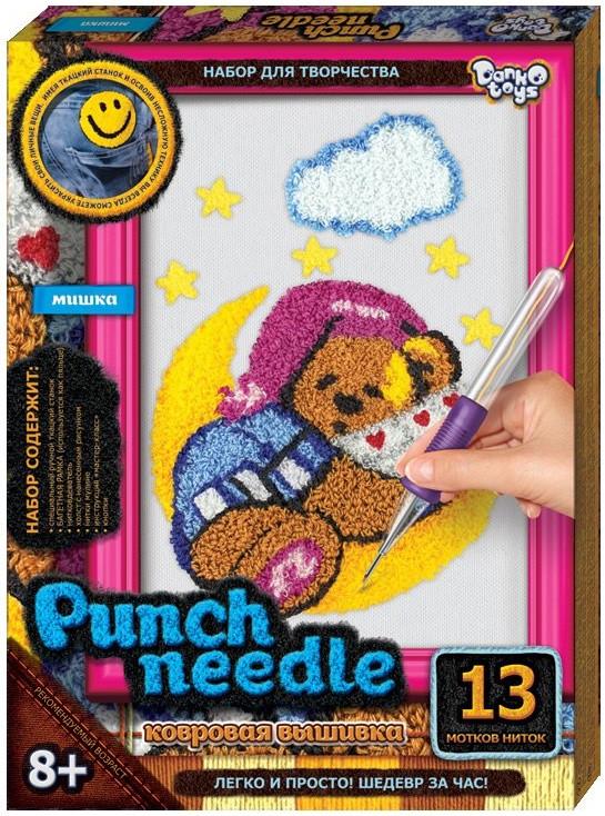Ковровая вышивка needle punch