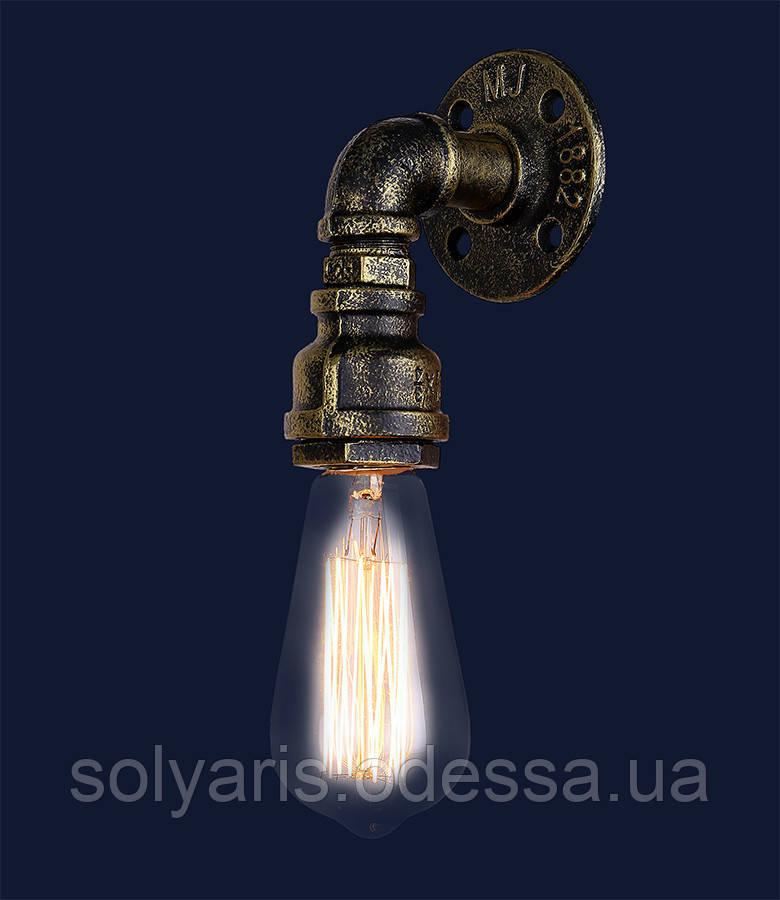 Бра,настенный светильник лофт 758B 2036-1