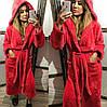 Банный халат женский длинный, плюшевая махра, Турция от 44 до 58 размера, фото 6