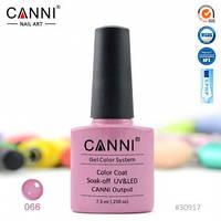 Гель-лак CANNI № 066 (бледно-пурпурный)