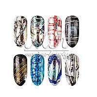 Гель-паутинка для дизайна ногтей YICHUN