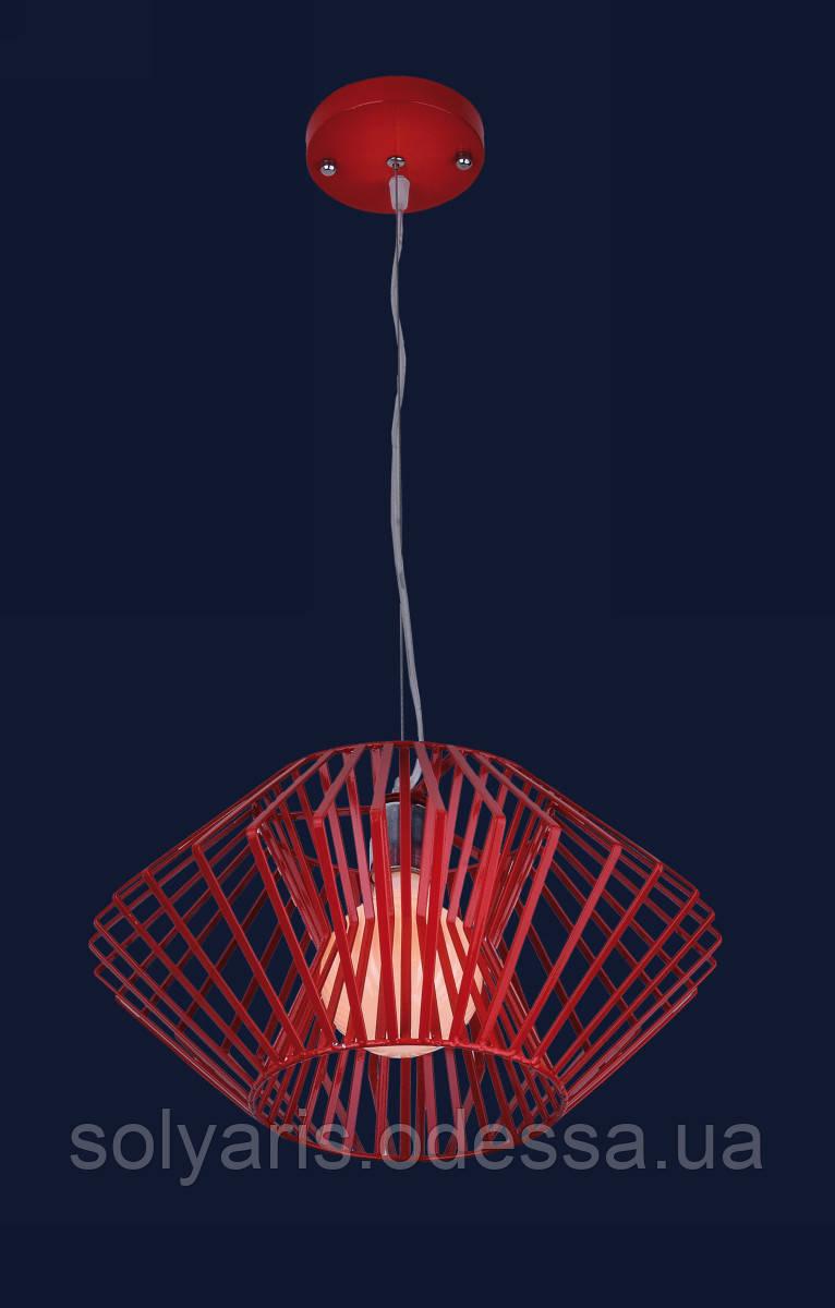 Люстра подвесная Levistella 7076389-1 (красный ,черный)