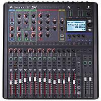 Аренда цифрового микшерного пульта Soundcraft Si Compact 16