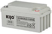 Гелевий акумулятор Kijo JDG 12V 65Ah GEL