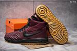Зимние кроссовки Nike LF1 Duckboot (бордовые), фото 4