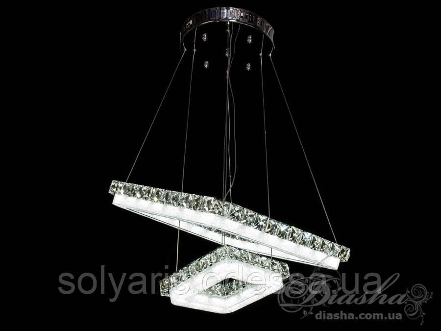 Хрустальная светодиодная люстра-подвес 2247-400-2