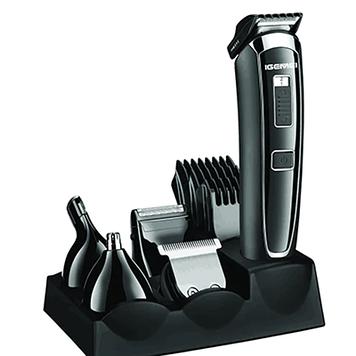Машинка для стрижки волос GEMEI GM-801, триммер, бритва,стайлер