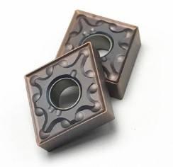 CNMG120404 (сталь+нерж. сталь) Твердосплавная пластина для токарного резца , фото 2