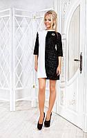 Ангоровое платье с люрексом