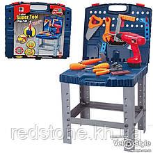 Дитячий набір інструментів 661-74 у валізі