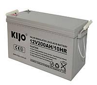 Гелевий акумулятор Kijo JDG 12V 200Ah GEL