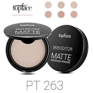 Пудра компактная TopFace Skin Editor Matte Finish PT-263