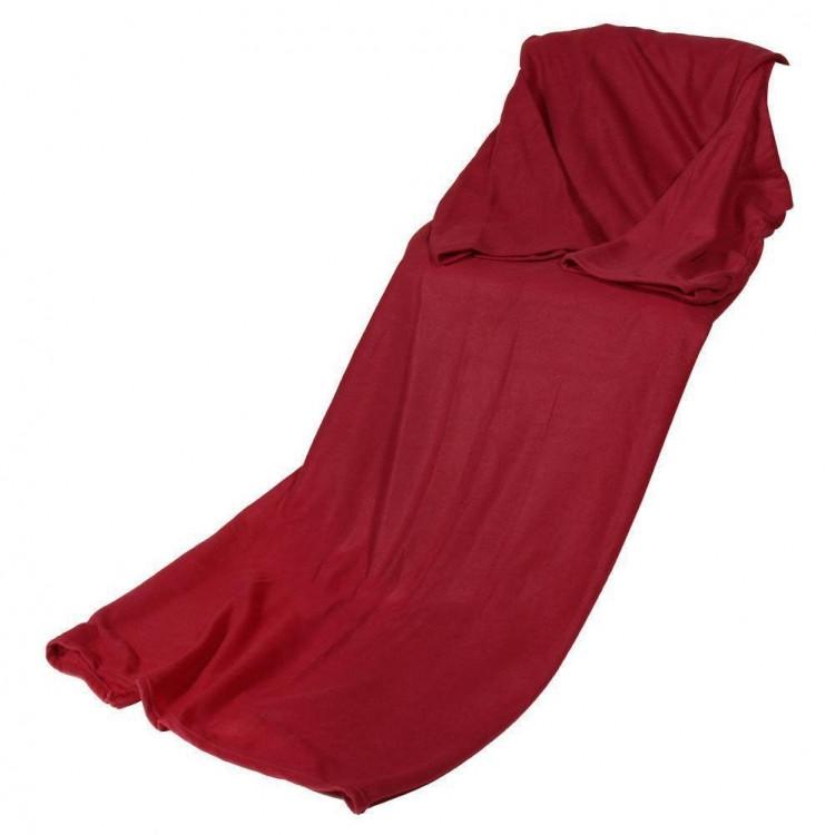 Плед с рукавами красный 192