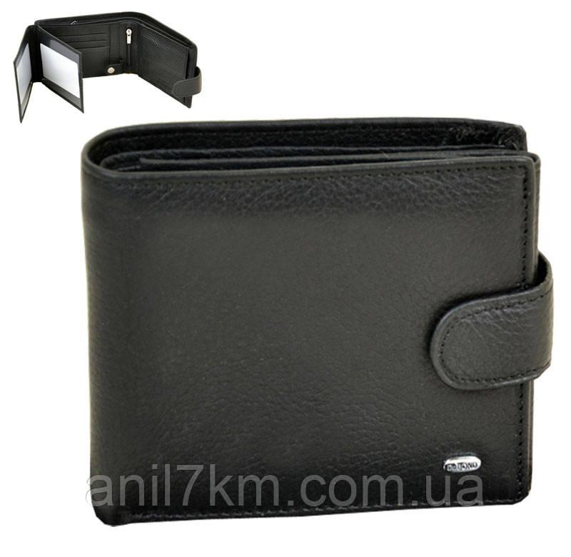 Мужской кожаный кошелёк  Dr.BOND