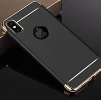 Чехол с золотыми вставками дляIPhone XR (2 Цвета)