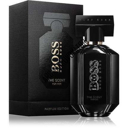 Hugo Boss The Scent Black For Her парфюмированная вода 100 ml. (Хуго Босс Зе Сент Блэк Фо Хе), фото 2