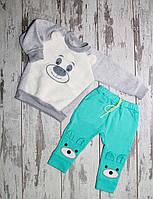 Детские штаны с Мишками (110)