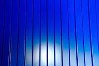 Профнастил для забора ПС-8 синий, тол. 0,4 мм