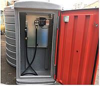 МИНИ АЗС 220В 56л/мин на базе резервуара SWIMER 5000л для дизельного топлива (двухстенный0