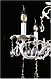 Люстра классическая свеча L2202/6 (WT+GD), фото 3