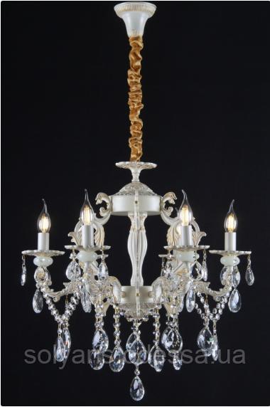 Люстра классическая свеча  L77404/6 (GWT)