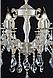 Люстра классическая свеча  L77404/6 (GWT), фото 2