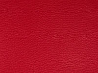 Искусственная кожа ярко-красная, фото 1