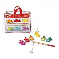 Игрушки для купания Janod Рыбалочка. Рыбки J03247