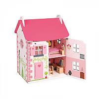 Кукольный домик Janod с мебелью J06581