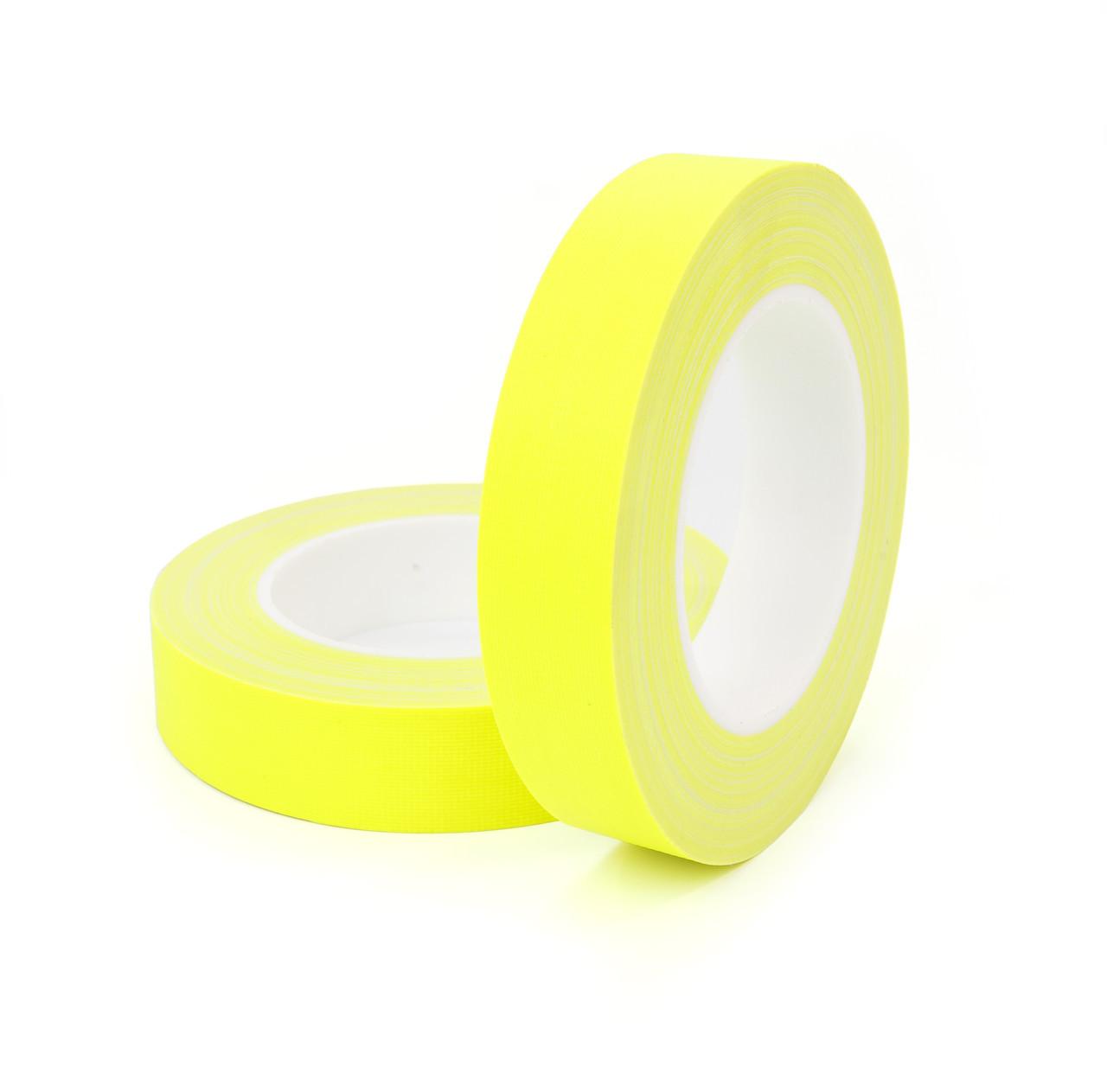 HPX FLUO TAPE - матовый высококонтрастный флюорисцентный тейп для театра, кино и телестудий - желтый