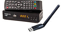 Т2 приставка с YouTube Tiger T2 IPTV + Wi-Fi адаптер