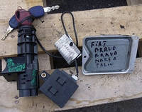 Блок управления двигателем комплект ( ЭБУ ) Fiat Bravo 1.4i 1995-2006