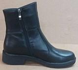 Ботинки демисезонные на низком ходу из натуральной кожи от производителя модель РБ060В, фото 2