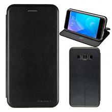 Чехол книжка кожаный G-Case Ranger для Samsung A6s черный