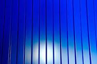 Профнастил стеновой ПС-8 синий, тол. 0,45 мм