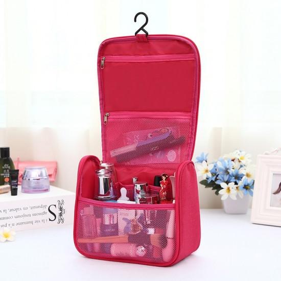 Дорожный подвесной органайзер для косметики Travel bag Grey 123690