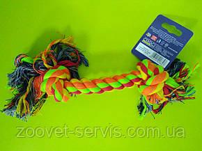 Игрушка для собак Croci канат грейфер c двумя узлами 30см C6AS0116, фото 2