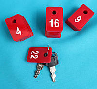 Номерки для ключей 25_40 мм