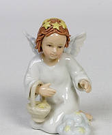 Фарфоровая фигурка Ангелочек (Pavone)