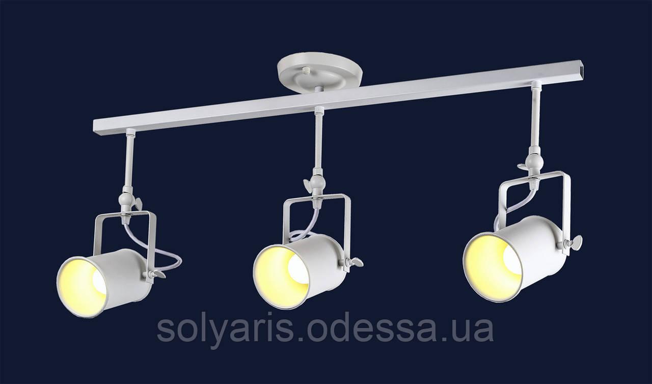 Прожектора (потолочные) в стиле лофт 761SD03-3 WH  ( белый )