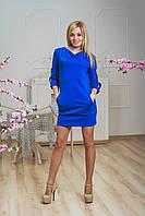 Платье молодежное электрик, фото 1