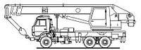 Автокран 30 тонн (КС-55715)