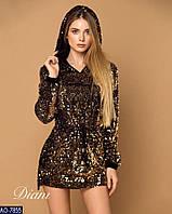 7723a6784f6 Женское платье туника с паетками в стиле valentino 42 44 46 размер 7 км  Одесса