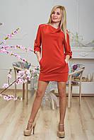 Платье молодежное терракот, фото 1